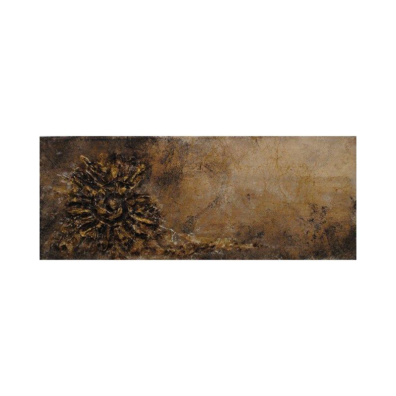 bild abstrakt in beige braun und gold 20x50x4 cm chf. Black Bedroom Furniture Sets. Home Design Ideas